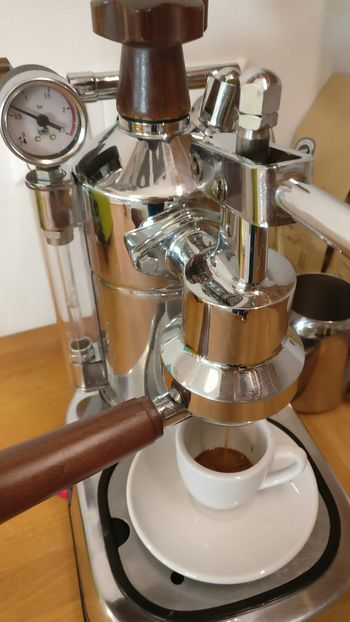07-Shot La Pavoni Professional-14kg Lever Extraction